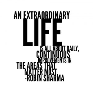 How can you be extraordinary today