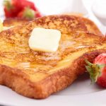 WholeGrain French Toast with Cinnamon Honey Butter