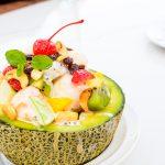 """Melon """"bowl""""fruit salad"""