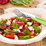 Strawberry Saladwith Gorgonzola