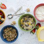 GranolaCrunch with Fruit Salad
