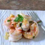 Shrimp in Ginger Butter Sauce