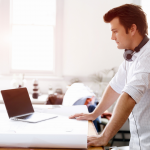 Let's talk standing desks - we're all for them but don't forget the bigger picture. It's not about sitting or standing, it's about MOVING. Experts say we need to be on our feet, moving, 2 to 4 hours during the workday. It can increase productivity by 15% and decrease overall stress but it's no easy feat - let us help you put a plan in place.