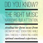 Music is a great way to lift your spirits! (Inside Sport Psychology)