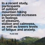 What's your favorite outdoor activity?