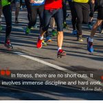 """""""In fitness, there are no short cuts. It involves immense discipline and hard work."""" ~Mahesa Babu"""