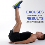 Your excuses hold you back.